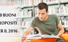 10 Buoni propositi per laurearsi nel 2016