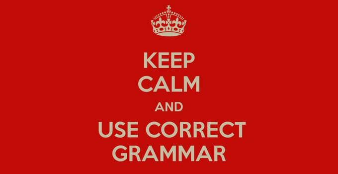 errori grammaticali