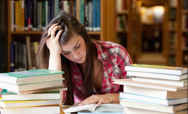 I 5 vizi capitali dello studente in crisi