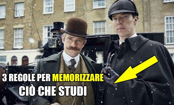 Il Palazzo della Memoria: il metodo di Sherlock Holmes!