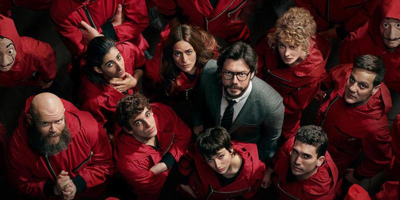 La casa di carta e altre 5 serie tv da vedere su Netflix