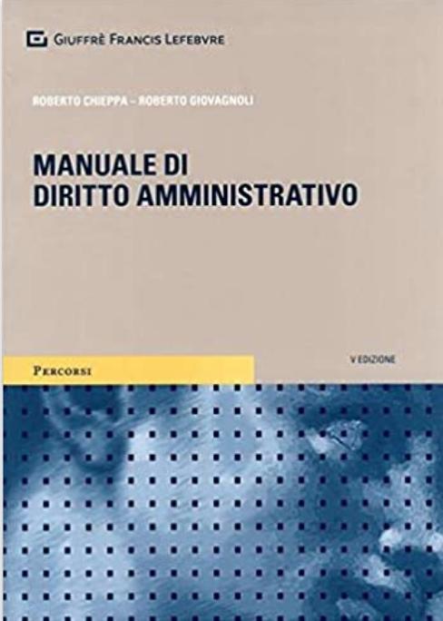 Manuale di diritto amministrativo di Roberto Chieppa